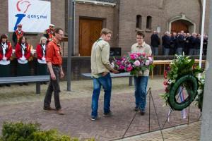 4 mei dodenherdenking Scouting ulft kranslegging 4