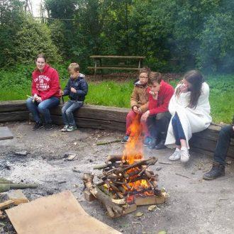Zonnepitten weekendkamp scouts